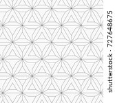 geometric vector pattern ... | Shutterstock .eps vector #727648675