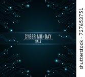 high tech background from a... | Shutterstock .eps vector #727653751