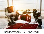 camera action record on... | Shutterstock . vector #727656931