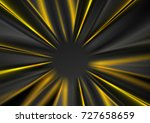 dark grey and yellow glowing... | Shutterstock .eps vector #727658659