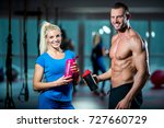 sport  fitness  lifestyle and... | Shutterstock . vector #727660729