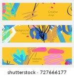 hand drawn creative universal... | Shutterstock .eps vector #727666177