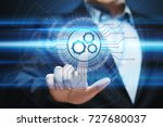 automation software technology... | Shutterstock . vector #727680037