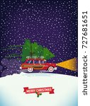 cool vector poster template... | Shutterstock .eps vector #727681651