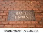 october 10  2016   ernie banks... | Shutterstock . vector #727682311