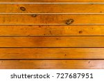 wooden wall from boards as a... | Shutterstock . vector #727687951