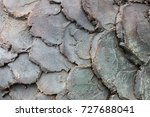 stone wall. abstract background ... | Shutterstock . vector #727688041