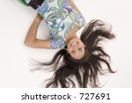asian teenager | Shutterstock . vector #727691