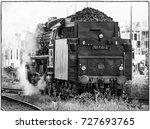 Classic Steam Locomotive Of Th...