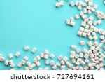 soft pink and white... | Shutterstock . vector #727694161