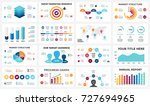 marketing infographic  cycle... | Shutterstock .eps vector #727694965