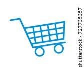 shopping icon logo design...   Shutterstock .eps vector #727735357
