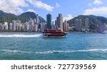 speedboat is a passenger boat... | Shutterstock . vector #727739569