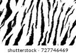 Background Texture Tiger Strip...