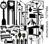 City Objects And Accessories...