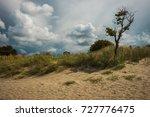 scenic seascape on baltic spit... | Shutterstock . vector #727776475