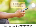 public wi fi network available... | Shutterstock . vector #727776715