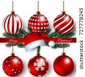beautiful christmas banner with ...
