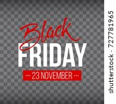 abstract vector black friday...   Shutterstock .eps vector #727781965