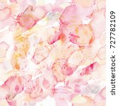 watercolor seamless sample with ... | Shutterstock . vector #727782109