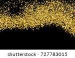 gold glitter texture isolated... | Shutterstock .eps vector #727783015