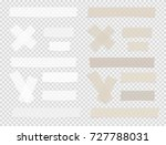 brown and white different size... | Shutterstock .eps vector #727788031