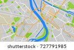 colorful map city | Shutterstock .eps vector #727791985