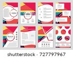 abstract vector layout...   Shutterstock .eps vector #727797967