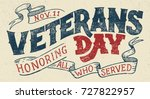 Veterans Day  Honoring All Who...