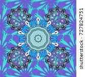summer blooming theme. vintage... | Shutterstock .eps vector #727824751