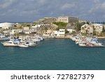 boats in royal naval dockyard ... | Shutterstock . vector #727827379