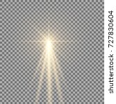 light with a glare on... | Shutterstock .eps vector #727830604