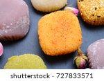 japanese mochi    Shutterstock . vector #727833571