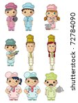 cartoon chef icon | Shutterstock .eps vector #72784090