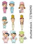 cartoon chef icon | Shutterstock .eps vector #72784090