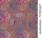 abstract zentangle inspired art ... | Shutterstock .eps vector #727851637