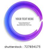 label blank template  white... | Shutterstock .eps vector #727854175