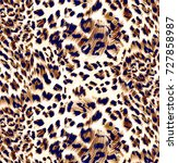 Stock photo animal print leopard texture background 727858987