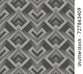 modern ornamental background.... | Shutterstock .eps vector #727863409