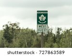 signpost with green sign of... | Shutterstock . vector #727863589