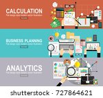 tax calculation  budget... | Shutterstock .eps vector #727864621