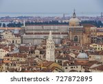 Small photo of Italy beauty, San Marco Square in the rain, Venice. Aerian view of Venice