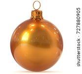 christmas ball decoration... | Shutterstock . vector #727880905