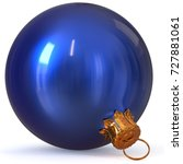 Christmas Ball Blue Decoration...