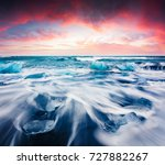 Blocks Ice Washed Waves Jokulsarlon - Fine Art prints