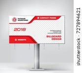billboard design  graphic... | Shutterstock .eps vector #727894621