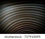 ceremic rough flower pot inside ...   Shutterstock . vector #727910095