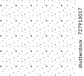 seamless pattern with stars... | Shutterstock .eps vector #727913017