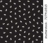 seamless primitive jumble... | Shutterstock .eps vector #727913515
