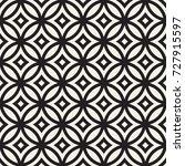 vector seamless geometric... | Shutterstock .eps vector #727915597